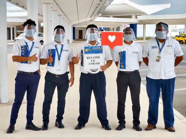 CARM Transfers Greeters at Cancun International Airport
