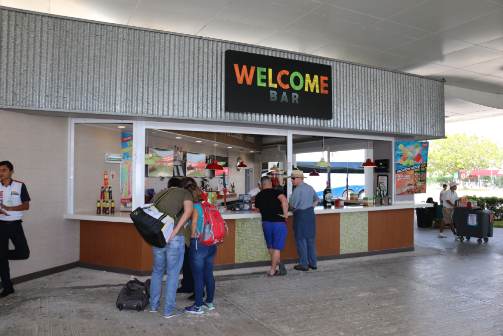 Welcome Bar Terminal 2 Cancun Airport